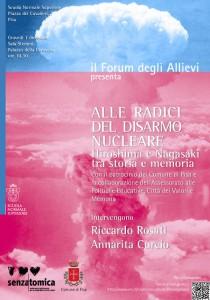 Forum Allievi - Alle radici del disarmo nucleare