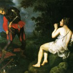 Giovanni Bilivert, Angelica si cela a Ruggiero, ante 1624. Firenze, Galleria Palatina