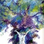 Grazia Nidasio, illustrazione per L'Orlando furioso raccontato da Italo Calvino, Milano, Mondadori, 2009