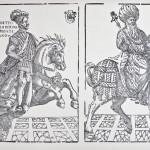 Giovanni Britto, Ricciardetto, xilografia, ante 1550 (dal Gabinetto delle stampe A. Davoli, Biblioteca A. Panizzi reggio Emilia)