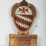 Lo stemma araldico di Leonardo Salviati
