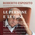 """Roberto Esposito, professore di Filosofia teoretica presso l'Istituto di Scienze Umane e Sociali della Scuola Normale, presenta oggi 20 aprile alla Harvard University il suo novo libro """"Le persone e le cose"""", edito da Einaudi."""
