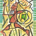 L'Iliade et l'Odyssée, Mimmo Paladino