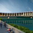 """Mercoledì 22 novembre alle ore 11 sarà firmato il protocollo di intesa tra Scuola Normale, Università di Pisa, Scuola Sant'Anna, CNR e Comune di Pisa per la realizzazione di """"Origins Bridge"""", progetto di un ponte-edificio sul fiume Arno."""