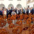 """Gli artisti Ricca e Spagnoli celebrati dai rettori della Crui, riuniti in assemblea a Pisa. """"Faremo circolare questa installazione nel maggior numero di sedi"""", l'impegno del Presidente Crui Gaetano Manfredi."""
