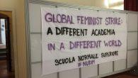 Come docenti e ricercatrici e ricercatori della Scuola Normale Superiore, aderiamo alla giornata di sciopero globale delle donne contro la violenza economica, la precarietà e le discriminazioni indetta per oggi, 8 Marzo 2019. Aderendo, riconosciamo e supportiamo la natura femminista di questo sciopero.